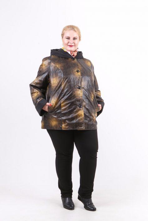 Двухсторонняя весенняя куртка, цвет коричневый в интернет-магазине Фабрики Тревери