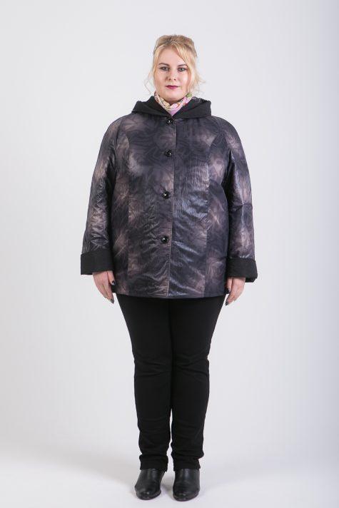 Двухсторонняя весенняя куртка, цвет сиреневый в интернет-магазине Фабрики Тревери