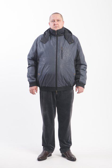 Двухцветная куртка Пилот, цвет черный в интернет-магазине Фабрики Тревери