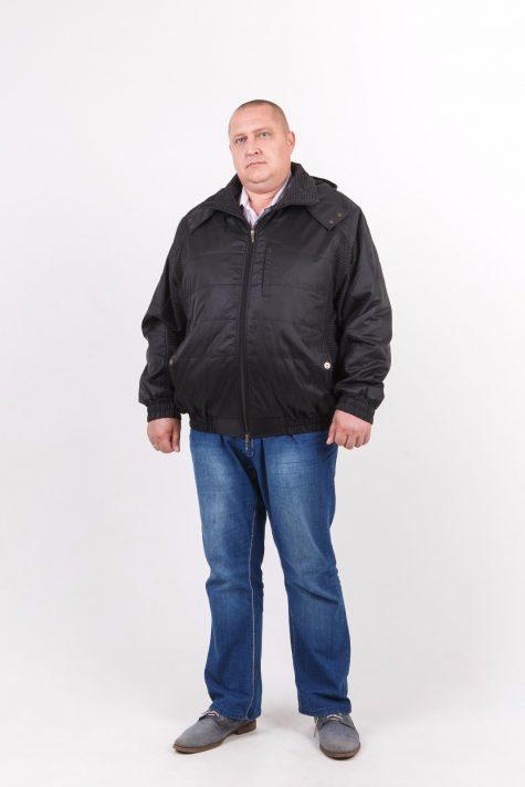 Комбинированная куртка Пилот, цвет черный в интернет-магазине Фабрики Тревери