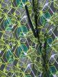 Демисезонная парка из плащевки, цвет зеленый в интернет-магазине Фабрики Тревери