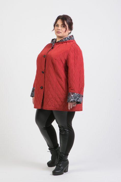 Двухсторонняя весенняя куртка, цвет красный в интернет-магазине Фабрики Тревери