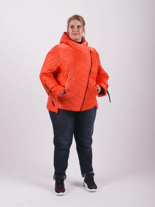 Брендовая молодёжная куртка «косуха», цвет светло-розовый в интернет-магазине Фабрики Тревери
