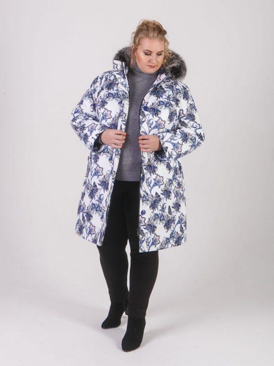 Молодежная зимняя куртка из необычной и красивой мембранной ткани , цвет фиолетовый в интернет-магазине Фабрики Тревери