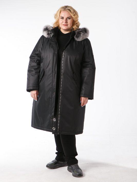 Черная женская куртка на мембране, цвет черный в интернет-магазине Фабрики Тревери
